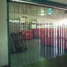 Tirai Mica plastik pvc curtain clear