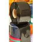 Mica plastik pvc curtain Opaque black 1