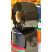 Mica plastik pvc curtain Opaque black