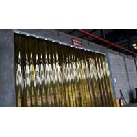 Tirai Plastik Pvc Curtain Kuning(Tirai Plastik)
