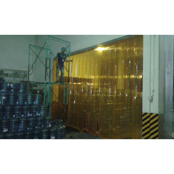 Pvc Strip Curtain Kuning Jakarta (085697186088)