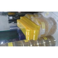 Tirai Plastik Pvc Curtain Bening Transparan (085697186088)