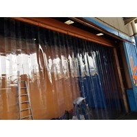 PVC STRIP CURTAIN BENING (Tirai Plastik) 085697186088)