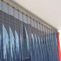 Plastik Pvc Strip Curtain Murah (085697186088) 1