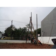 Install Electric Poles
