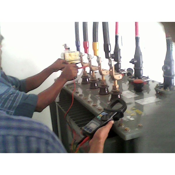 Test Comissioning dan Energize Trafo