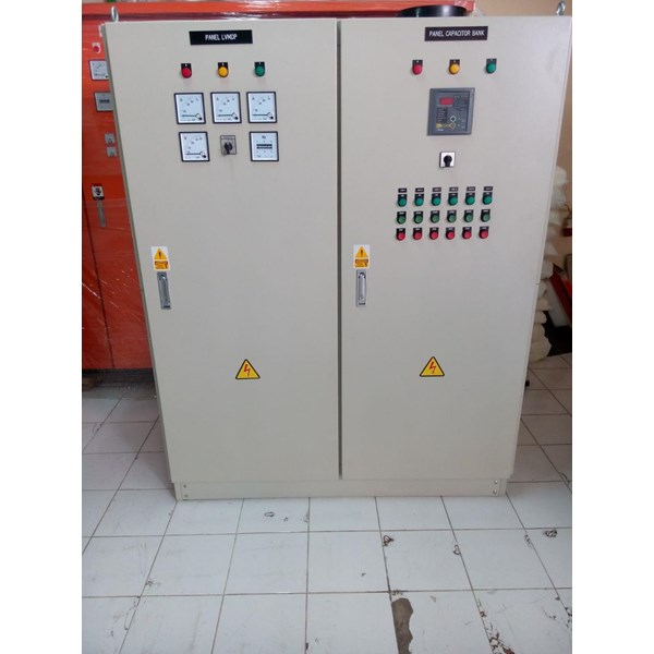 Panel LVMDP 1000A dan Capasitorbank