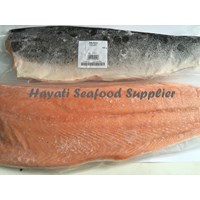 Jual Salmon Fillet Skin On
