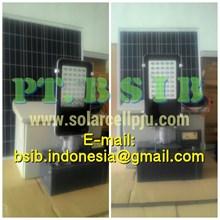 Lampu PJU LED 40Watt Tenaga Surya (Solar Cell)