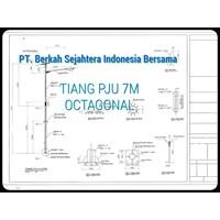 Jual Tiang PJU Oktagonal & Monopole