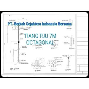 From PJU Pole of Octagonal & Monopole 4