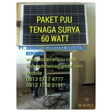 Lampu Jalan PJU 60 Watt Tenaga Surya