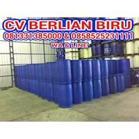 Barang Bekas Plastik Drum Plastik Biru 200Lt 1