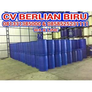 Barang Bekas Plastik Drum Plastik Biru 200Lt