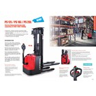 Electric Stacker Hand Lift Elektrik NOBLIFT 1.3 Ton sampai 1.6 Ton Tinggi 3.4 Meter sampai 6 Meter 6