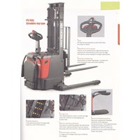Beli Electric Stacker Hand Lift Elektrik NOBLIFT 1.3 Ton sampai 1.6 Ton Tinggi 3.4 Meter sampai 6 Meter 4