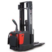 Electric Stacker Hand Lift Elektrik NOBLIFT 1.3 Ton sampai 1.6 Ton Tinggi 3.4 Meter sampai 6 Meter 1