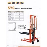 Distributor Hand Lift Manual Hand Stacker DALTON 1 Ton sampai 2 Ton Tinggi 1.6 Meter sampai 3 Meter  3