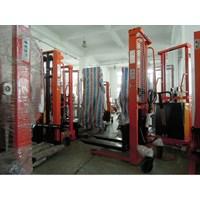 Beli Hand Lift Manual Hand Stacker DALTON 1 Ton sampai 2 Ton Tinggi 1.6 Meter sampai 3 Meter  4
