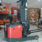 Full Elektrik Stacker NOBLIFT 1.5 Ton Tinggi 3.4 Meter 3