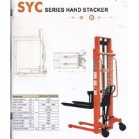 Jual Hand Stacker Manual Kapasitas 1 Ton Tinggi 2.5 Meter dan 3 Meter 2