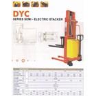 Hand Stacker Semi Electric DALTON Kapasitas 1 sampai 2 Ton Tinggi Angkat 2 Meter sampai 3.5 Meter 5