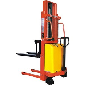 Hand Stacker Semi Electric DALTON Kapasitas 1 sampai 2 Ton Tinggi Angkat 2 Meter sampai 3.5 Meter