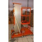 Tangga Hidrolik Aluminium Work Platform Single Mast untuk 1 Orang Tinggi 10 Meter sampai 12 Meter 1