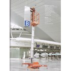 Tangga Hidrolik Aluminium Work Platform Single Mast untuk 1 Orang Tinggi 10 Meter sampai 12 Meter 2