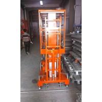 Jual Tangga Elektrik Aluminium Work Platform Dual Mast untuk 2 Orang Tinggi 10 Meter sampai 16 Meter 2