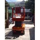 Mobile Vertical Lift Model Gunting Scissor Lift Tinggi 12 Meter sampai 16 Meter 3