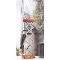 Distributor Mobile Vertical Lift Model Gunting Scissor Lift Tinggi 12 Meter sampai 16 Meter 3