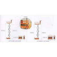 Mobile Vertical Lift Model Gunting Scissor Lift Tinggi 12 Meter sampai 16 Meter Murah 5