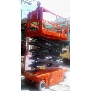 Mobile Vertical Lift Model Gunting Scissor Lift Tinggi 12 Meter sampai 16 Meter