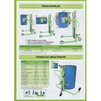 Hydrolic Drum Porter OPK Alat untuk memindahkan Drum Minyak atau Drum Kaleng Kapasitas 250 Kg dan 350 Kg Murah 5