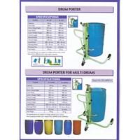 Distributor Hydraulic Drum Porter untuk Drum Plastik Kapasitas 250 dan 350 Kg Alat untuk memindahkan Drum Manual 3