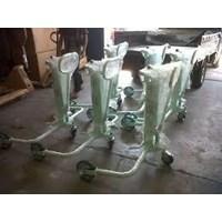 Beli Hydraulic Drum Porter untuk Drum Plastik Kapasitas 250 dan 350 Kg Alat untuk memindahkan Drum Manual 4