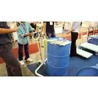 Hydraulic Drum Porter untuk Drum Plastik Kapasitas 250 dan 350 Kg Alat untuk memindahkan Drum Manual Murah 5