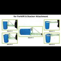 Drum Gripper OIC untuk 1 dan 2 Drum Plastik 500 Kg dan 1000 Kg ( Sarung Tangan Forklift )