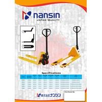 Distributor Hand Pallet Truck NANSIN (JAPAN) Kapasitas 2.5 Ton sampai 5 Ton 3