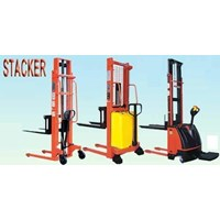 Jual Hand Stacker Semi Elektrik DALTON 1 dan 2 Ton 2