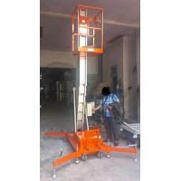 Aluminium Work Platform Tangga Elektrik Hidrolik Tinggi 10 - 16 Meter Murah 5