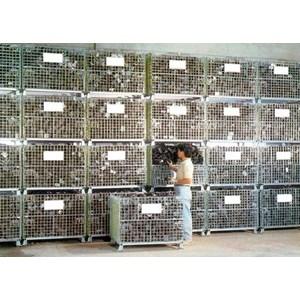 Termurah Pallet Mesh Keranjag Besi Jala Lipat Harga Termurah 800 Kg - 1500 Kg