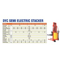 Distributor Hand Lift Semi Elektrik 1 dan 2 Ton Tinggi 1.6 Mtr - 3.5 Mtr 3