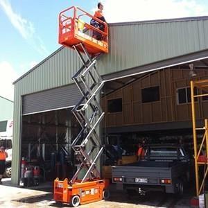Scissor Lift Tangga Elektrik Gunting 12 Meter - 16 Meter