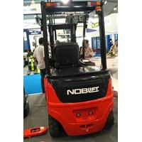 Jual Forklift Electric 2 Ton Tinggi Angkat 3 Meter Ramah Lingkungan 2