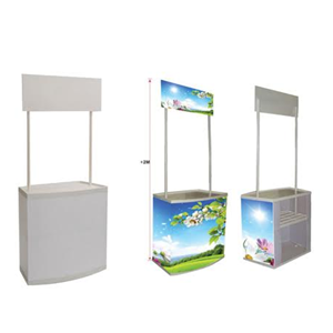 Event Desk Premium - booth portable