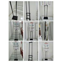 Jual Pop Up Stand 2sisi - Tripod Banner - xbanner 2