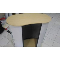 Beli Pop Up Counter No Header - Booth Portable - Event Desk - Pop Up Table 4
