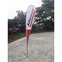 Beli Flag Banner - Flying Banner - standing umbul umbul 4